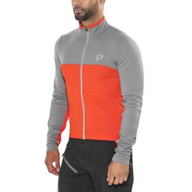 PEARL iZUMi Select Cykeltrøje lange ærmer Herrer grå/orange